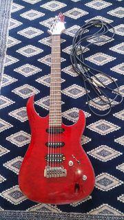 E Gitarre CORT RED mit