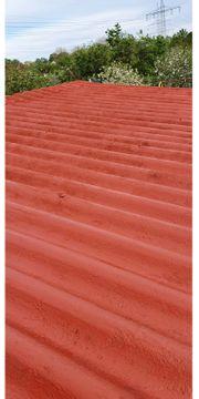 Dachfarbe ziegelrot matt