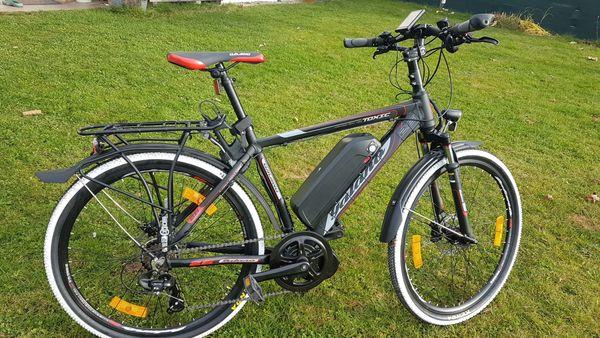 Ich baue ihr vorhandenes Fahrrad