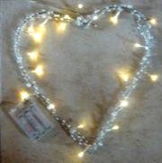 Weihnachtsdeko Beleuchtung Herz groß mit