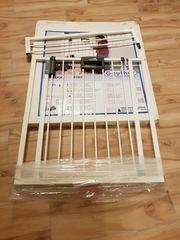 Geuther Türschutzgitter 4782 - Metall - weiß