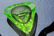 Glasschale Uranglas
