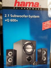 TOP Hama 2 1 Subwoofer
