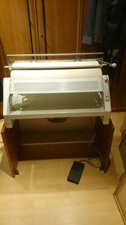 Wäschemangel Heißmangel Siemens elektrisch einklappbar