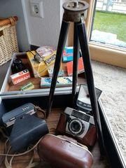 Nostalgie diverse Zubehörteile zu Fotoapparaten