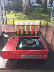Gas Kartuschen Grill Resto Camp
