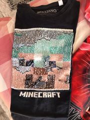 Tshirt 134-140 Minecraft usw