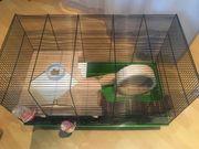Hamster Käfig mit Zubehör