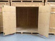 Lagerkisten - Holzkisten - Holzcontainer 13 m3