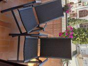 2 Balkonstühle Hochlehner