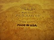 Zildjian Turkish Cymbals USA 22