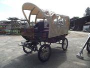 Wagonette mit Plane für 8