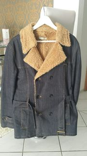 Jeans Wintermantel