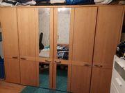 Schlafzimmer komplett - teilweise Massivholz - gebraucht