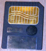 Smartmedia Speicherkarte 8 MB 3