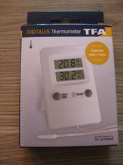 TFA Digitales Innen-Außen Thermometer Dostmann