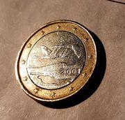 2001 Finnland 1 - EUR Münze