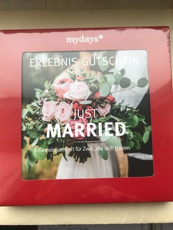 Mydays Magic Box Just Married -