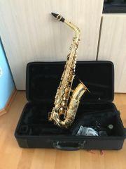 Yamaha YAS-275 Altsaxophon mit Zubehör