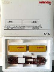 Märklin 47442 DB Sdgkms-Wagen mit