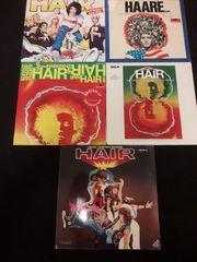 Hair Schallplatten LPs 5 Stück
