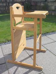 Herlag Kinder Hochstuhl-Kombination aus Holz