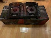 2x Pioneer CDJ 900 Nexus