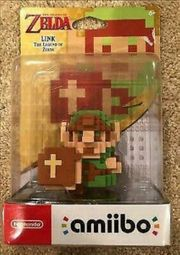 8 Bit Link Amiibo Nintendo