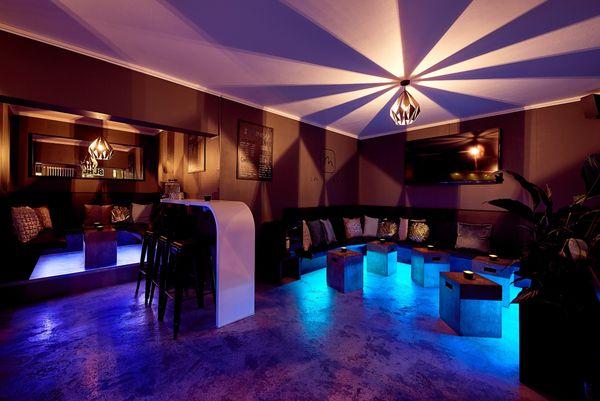 Moderne Bar für Präsentationen Workshops