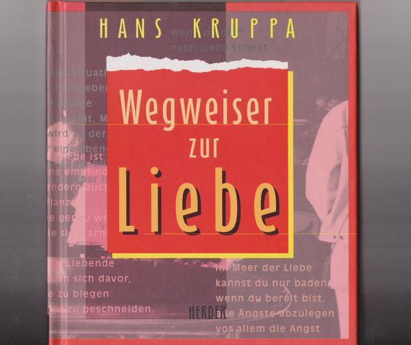 Buch Wegweiser zur Liebe - Hans