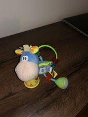 Plüschrassel Pferd Rassel Lernspielzeug Spielzeug