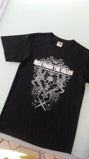 Fasching Piraten-Shirt schwarz mit Aufdruck