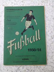 Fußball Sammelalbum Athos 1950 51