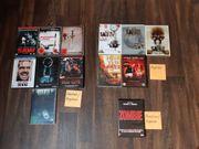 13x Horror DVDs SAW 1-4 - ZOMBIE