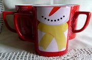 3 neue Nescafe Tassen mit