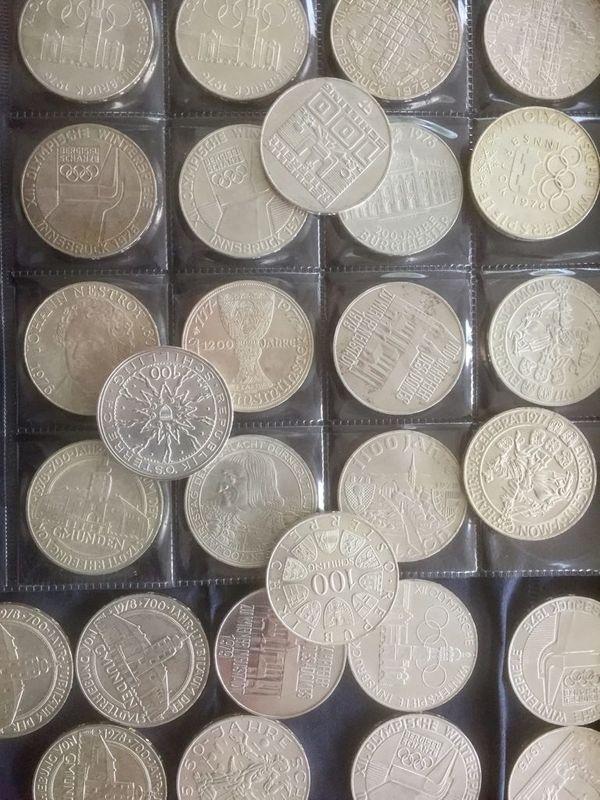 Kaufe Münzen Münzsammlung Schilling Franken