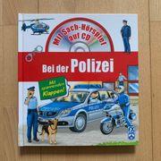 Kinderbuch Bei der Polizei mit