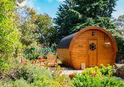 Schlaffass Gartenhaus Campingfass L590cm D300cm