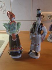 Ungarisches Trachten Paar