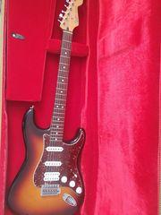 E-Gitarre - Fender Startocaster inkl Koffer