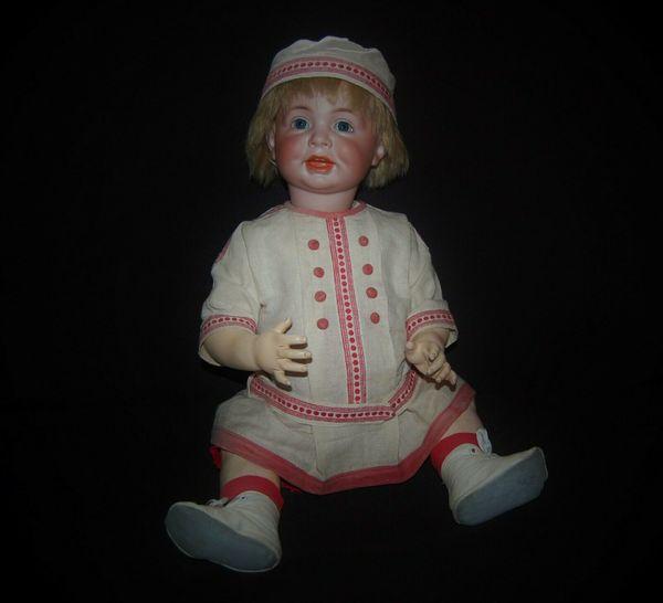 Antike Puppe Kämmer Reinhardt 116A