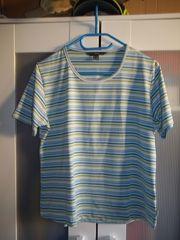 Shirt in blau gestreift Gr