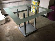 Glastisch Tisch Esstisch Wohnzimmer