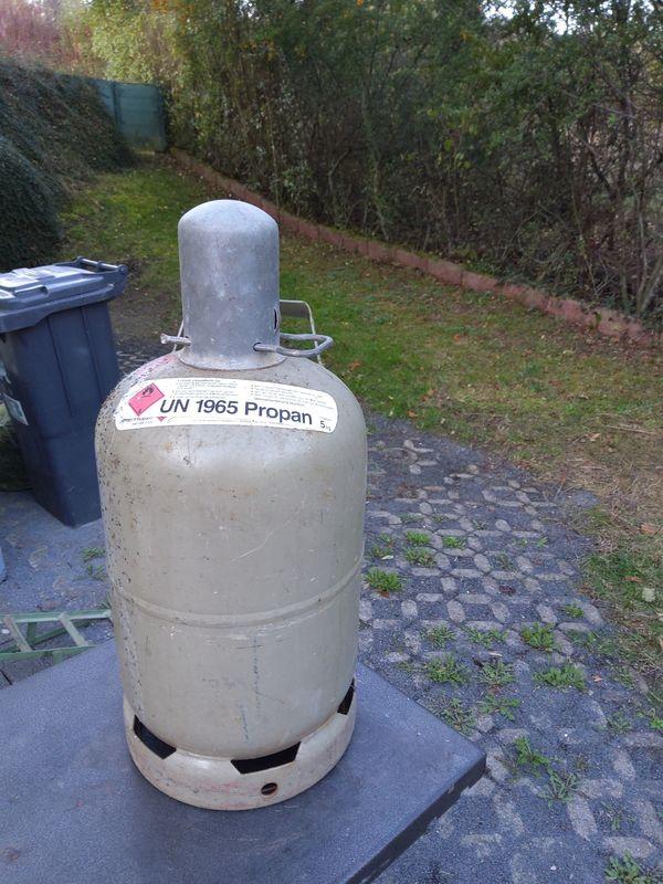 Propangasflasche 5 kg leer gebraucht