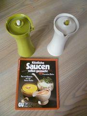 Tupperware Saucenflaschen mit GU Buch