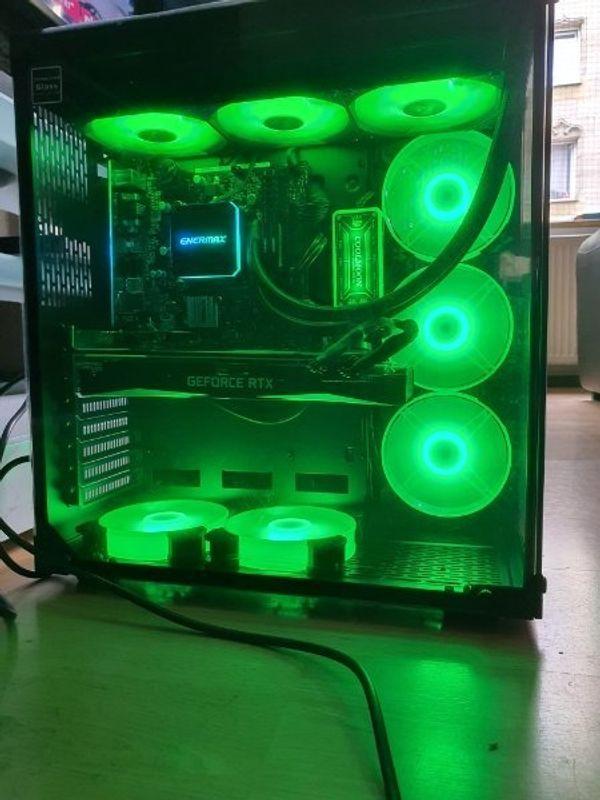 Verkaufe / Tausche High End Gaming PC / i9 / RTX 2080 / Wasserkühlung