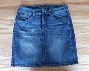Jeansrock Jeans Damenrock Rock Gr