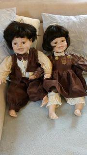 Sammler Porzellan Puppen