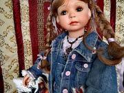 süße Paige trägt gerne Jeans