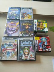 Game cube Spiele